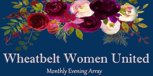 Wheatbelt Women United Monthly Dinner 2