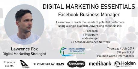 Digital Marketing Essentials - Facebook Business Manager tickets