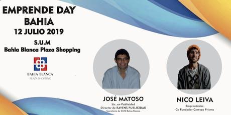 """Emprende Day Bahia. """" Emprender para Ganar """" 12 Julio 2019. Bahia Blanca entradas"""