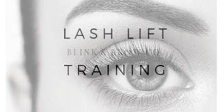 August 19th Blink & Brow Lash Lift & Tint Training tickets