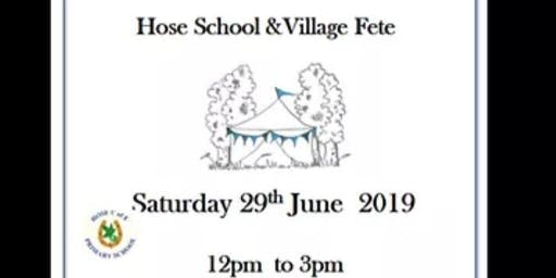 Hose Annual Village Fete