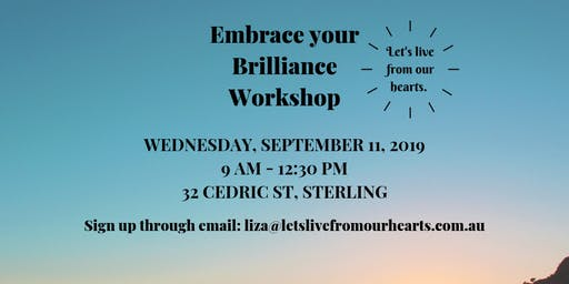 Embrace your Brilliance Workshop