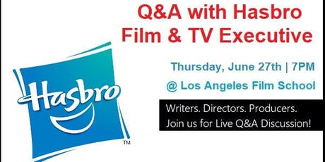 Q&A with Hasbro Studios Development Executive tickets