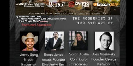 Bitcoin 2019 UnOfficial Afterparty by Crypto PR Lab, AI Venture Amalgamators and Sarah Austin tickets