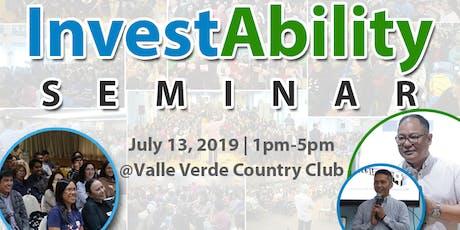 InvestAbility Seminar tickets