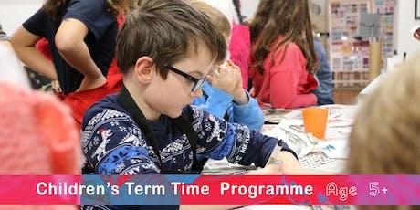 TERM TIME CLASSES - MORNING KIDS RE-REGISTRATION SEPTEMBER 2019-2020 tickets
