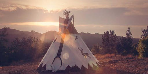 NEXT LEVEL SELF LOVE GUIDED MEDITATION + SOUND HEALING IN A TIPI