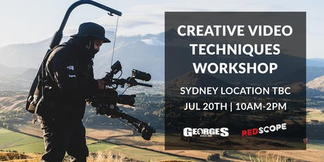 Creative Video Techniques Workshop with Redscope  tickets