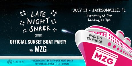 LNS - Official Sunset Boat Party w/ MZG tickets