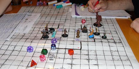 Dungeons and Dragons Campaign - 3 Hour Campaign (Adults Only - Aged 18+) tickets