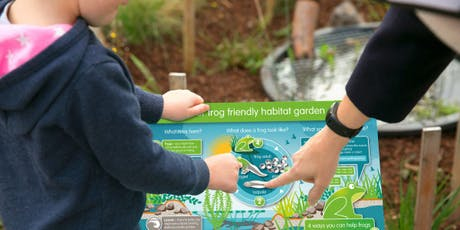 Creating a frog pond and habitat garden tickets