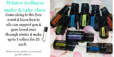 Essential oils winter wellness make and take  tickets