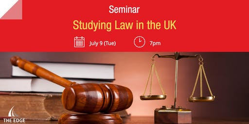 Seminar: Studying Law in the UK