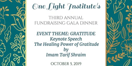 One Light Institute's  Annual Fundraising Gala Dinner tickets