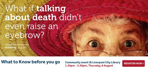 What to Know before you go: Liverpool Community Event