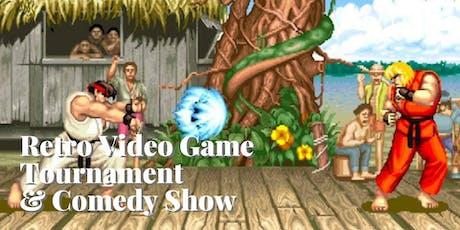 Retro Video Game Tournament & Comedy Show - Saturday Night Smackdown! tickets