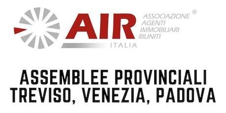 Air-Italia - Assemblee Provinciali Treviso, Venezia, Padova biglietti