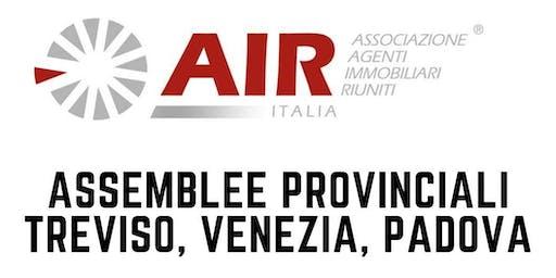 Air-Italia - Assemblee Provinciali Treviso, Venezia, Padova