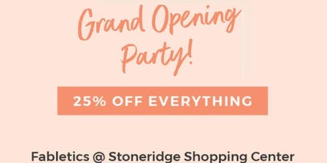 Fabletics at Stoneridge Shopping Center Grand Opening Party tickets