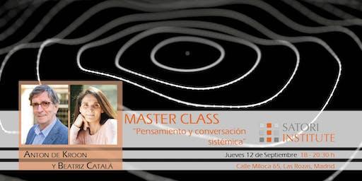 Master class Anton de Kroon sobre Aplicación de la Visión Sistémica