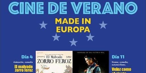 """Cine de Verano. """"Made in Europa"""". """"El malvado zorro feroz"""""""