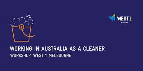 Working in Australia as a Cleaner ingressos