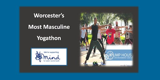 Worcester's Most Masculine Yogathon - Supporting Mind.org