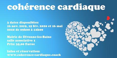 Atelier de cohérence cardiaque à Divonne-les-Bains billets