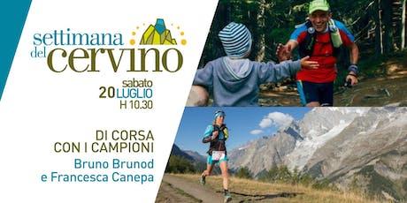 Settimana del Cervino - Di corsa con i campioni biglietti