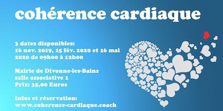 Atelier de cohérence cardiaque à Divonne, 01220 tickets