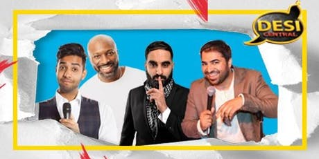 Desi Central Comedy Show : Manchester tickets