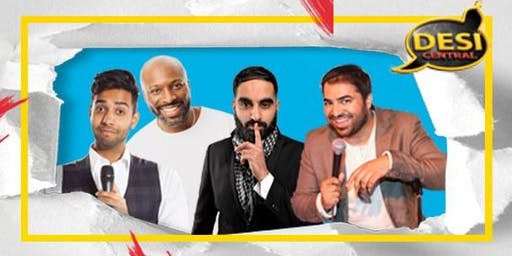 Desi Central Comedy Show : Manchester