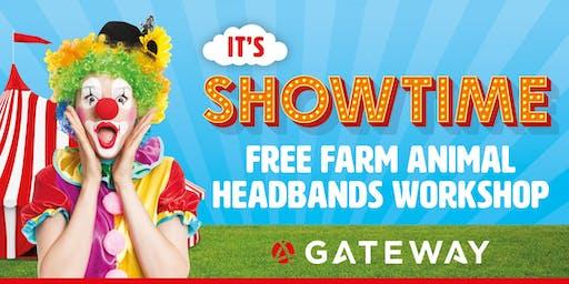 It's Showtime - Farm Animal Headbands Workshop