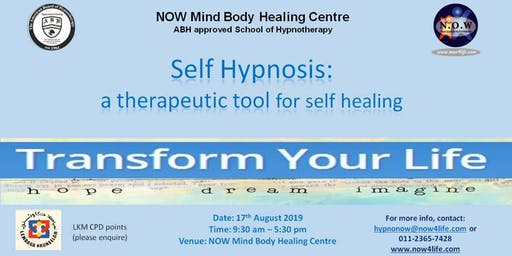 Self Hypnosis: A Therapeutic Tool for Self Healing