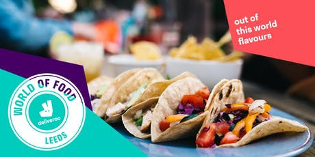 Deliveroo's World of Food Festival tickets