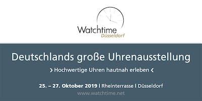 Watchtime Düsseldorf 2019 - Deutschlands große Uhrenausstellung
