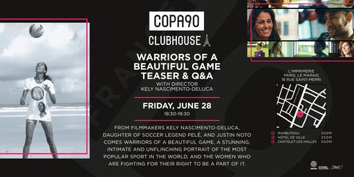 Warriors Of A Beautiful Game Teaser & Q&A with Kely Nascimento-Deluca