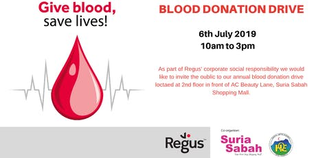 Regus Blood Donation tickets