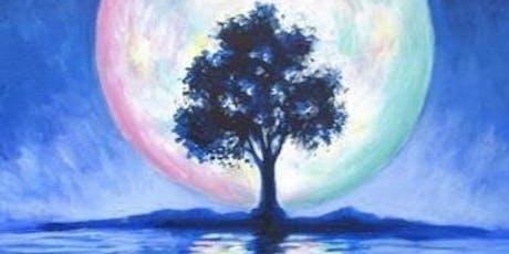 Blue Tree silhouette  tickets