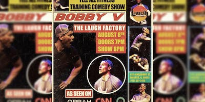 Bobby V's Tell-All Fitness Training Comedy Show