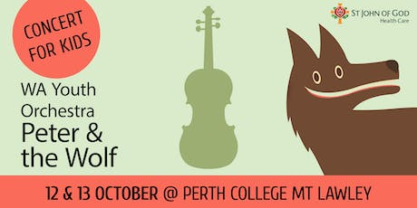 Peter & the Wolf - Presented by St John of God Health Care  tickets