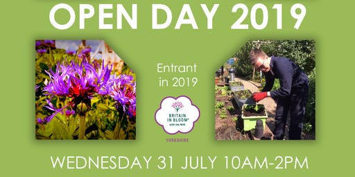 Grow with CASE Allotment open day 2019