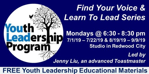 Toastmasters Youth Leadership Program: Find Your Voice & Learn to Lead Series