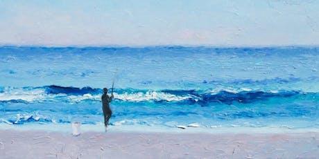 Fisherman silhouette  tickets