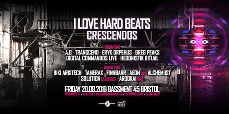 I Love Hard Beats- Crescendos  tickets
