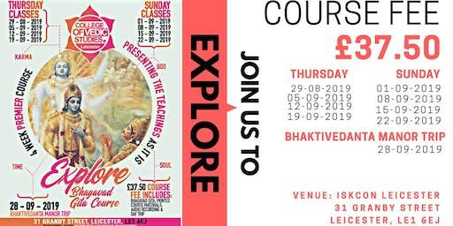 Explore Bhagavad Gita course