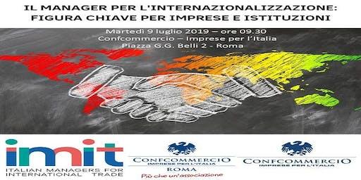 Il manager per l'internazionalizzazione: figura chiave per aziende e istituzioni