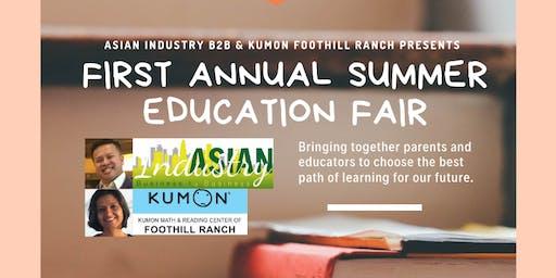 AIB2B Presents 1st Annual Summer Education Fair