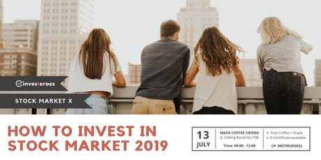 Stock Market X: How To Invest In Stock Market 2019 tickets