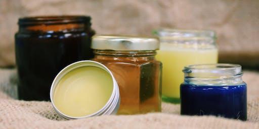 Bee Garden Cosmetics Course / Cwrs Cosmetigau'r Ardd Wenyn